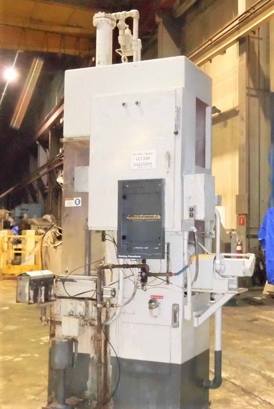 "Stroke Colonial PB-6-36 Vertical Hydraulic Broaching Machine   6-Ton x 36"" , Mdl: PB-6-36, S/N: 9- - Image 6 of 19"
