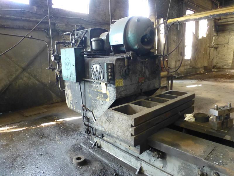 "Williams & White 100 Ton Hydraulic Bulldozer | 12"" x 60"" Cross Head; S/N: 0-3154, Located In: - Image 4 of 16"
