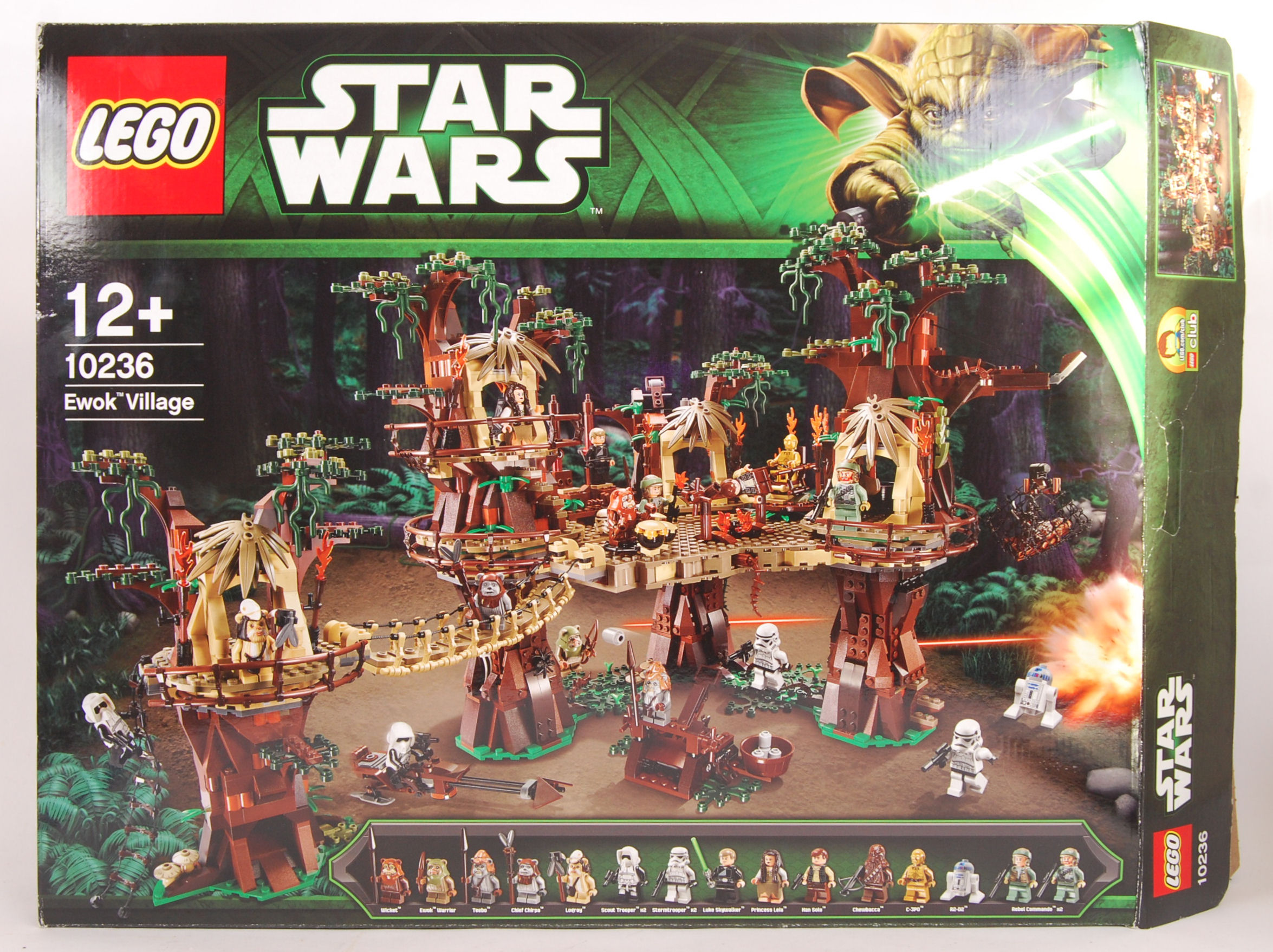 A Lego Star Wars 10236 Set Ewok Village Boxed With All Figures