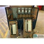 GANTRY ELECTRICAL SYSTEM IN JOB BOX W/ (2) DANFOSS V/S DRIVES, DISCONNECT & (4) SWITCHES & WIRE