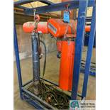 CM LODESTAR ELECTRIC CHAIN HOISTS; (1) 3 TON MODEL RRT2 & (1) 2 TON MODEL R