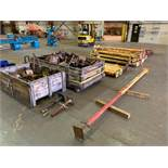 "(LOT) TUBULAR FRAME BRACING / SHORING SYSTEM; APPROX. (76) 3"" SQUARE X 8' YELLOW BRACES, APPROX."