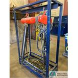 1 TON CM LODESTAR ELECTRIC CHAIN HOISTS