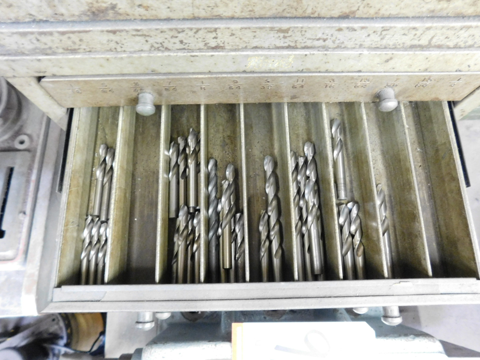 LOT - (3) STACKABLE DRILL INDEX DRAWER BANKS, W/ CONTENTS - Image 6 of 8