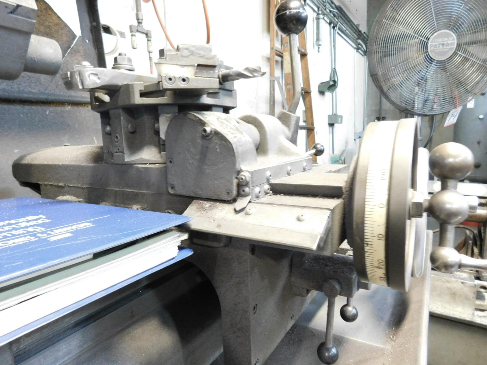 HARDINGE MODEL HC AUTOMATIC CHUCKING LATHE, S/N HC-4354-P - Image 6 of 8