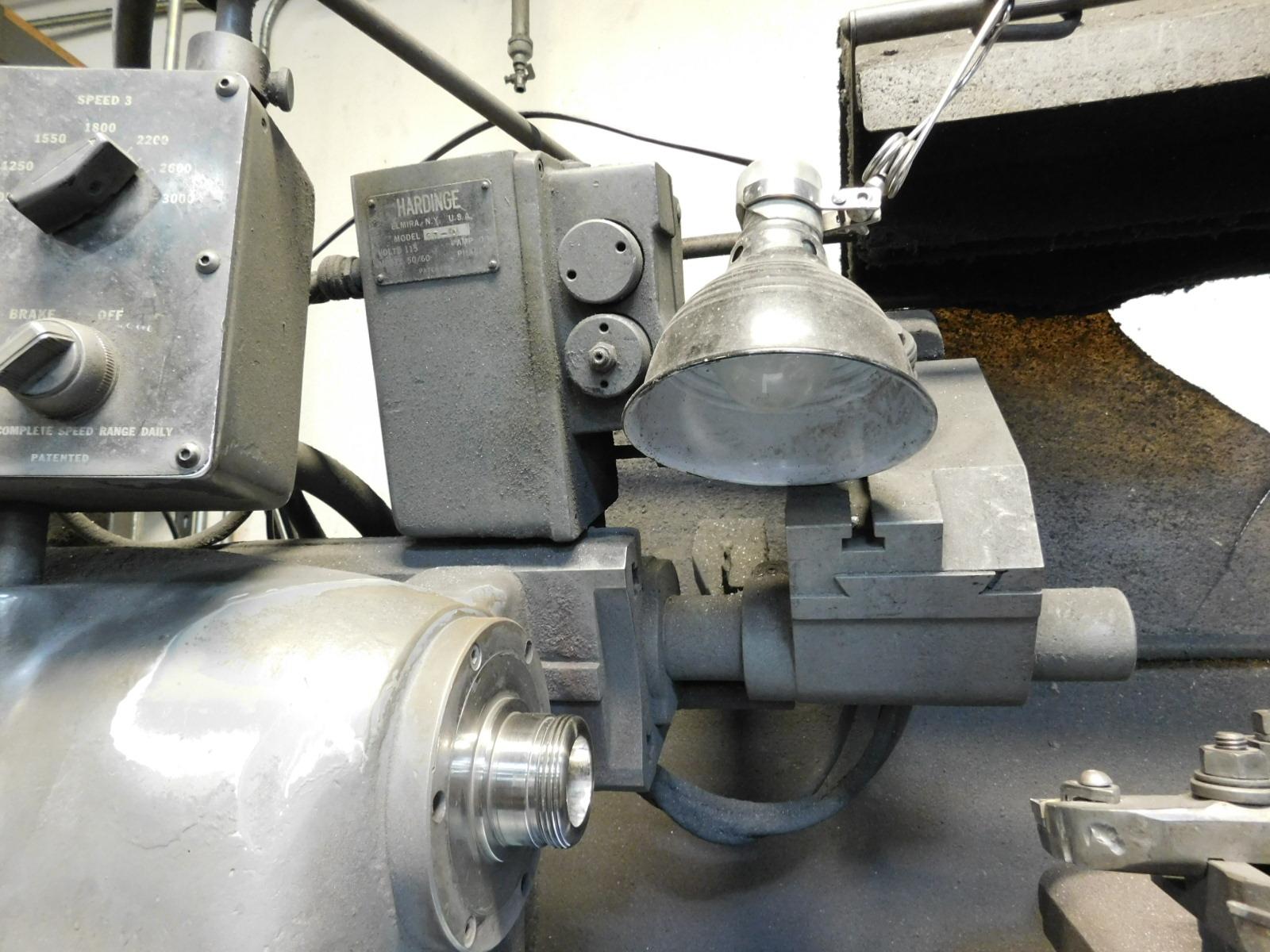 HARDINGE MODEL HC AUTOMATIC CHUCKING LATHE, S/N HC-4354-P - Image 5 of 8