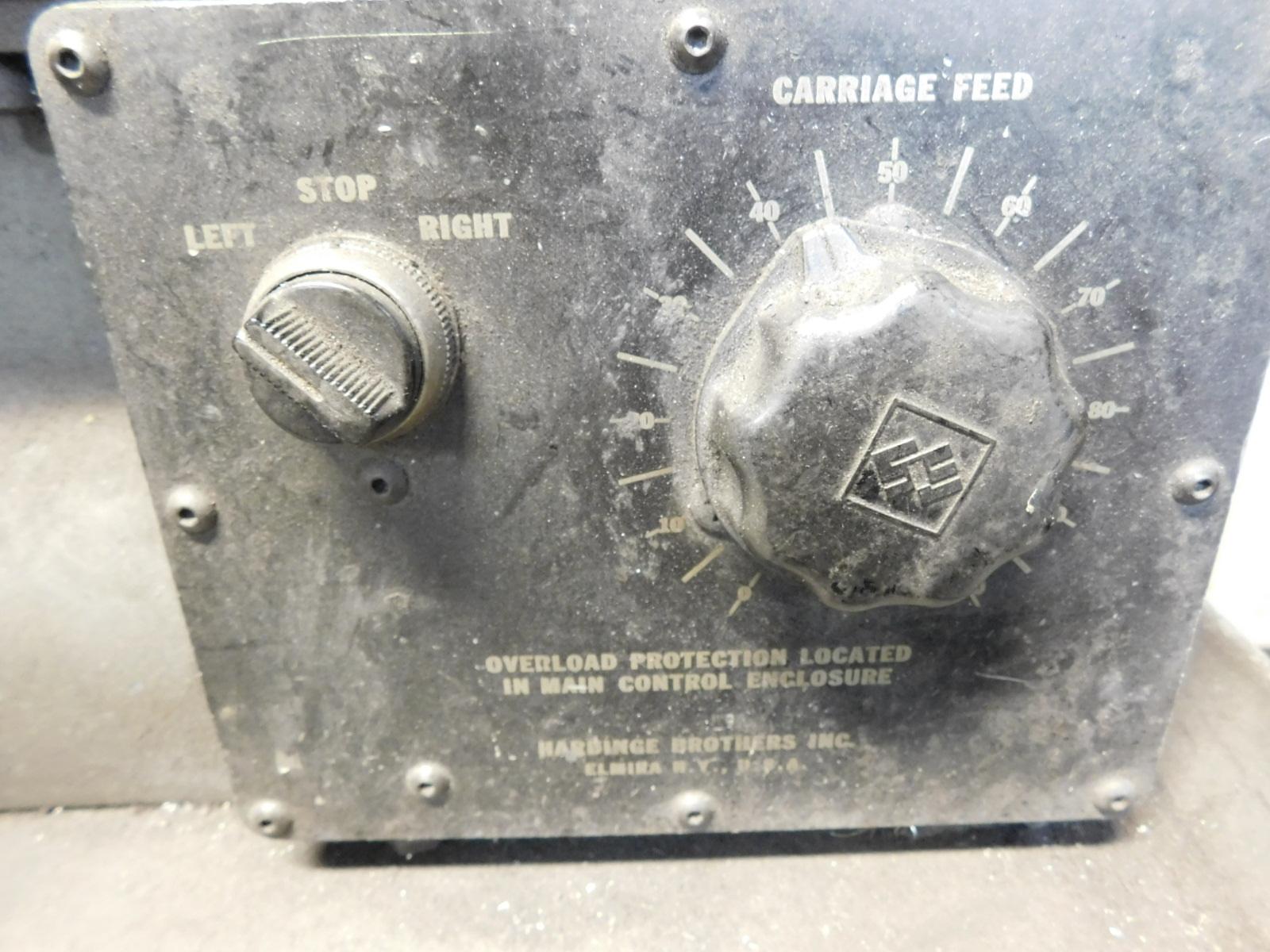 HARDINGE MODEL HC AUTOMATIC CHUCKING LATHE, S/N HC-4354-P - Image 3 of 8
