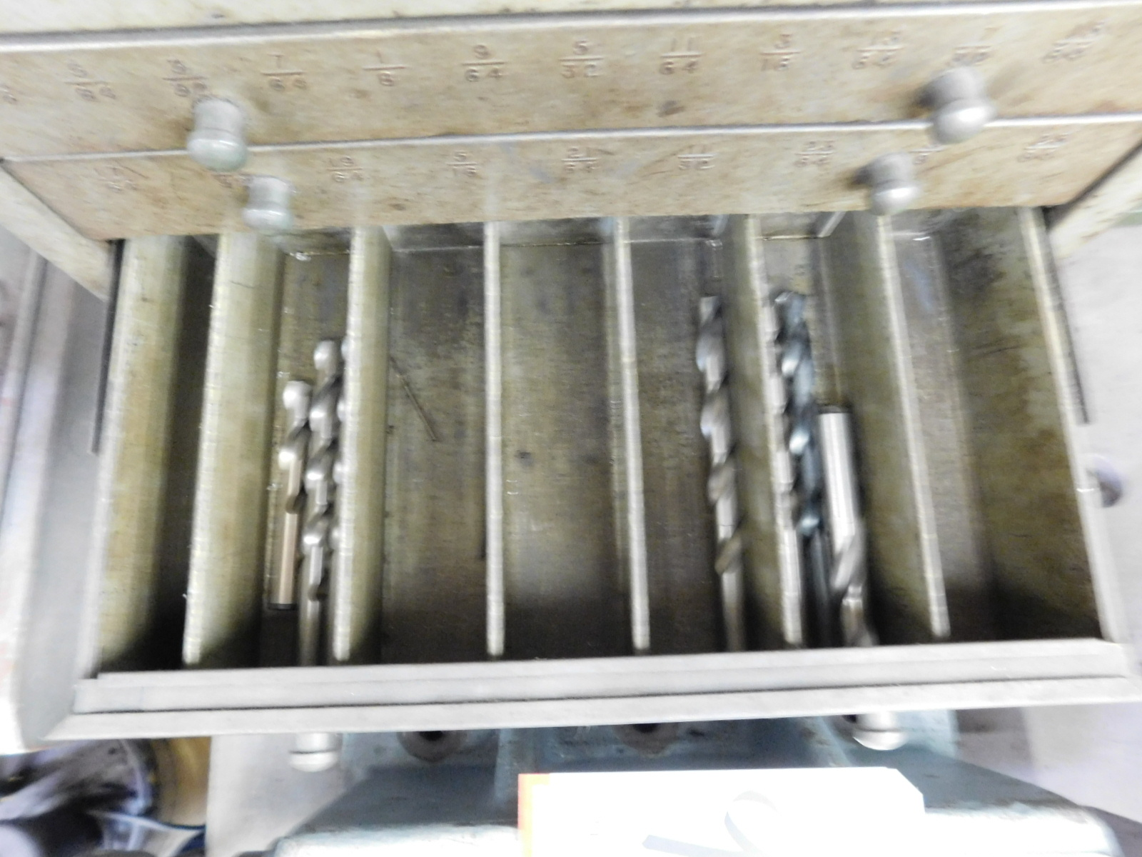LOT - (3) STACKABLE DRILL INDEX DRAWER BANKS, W/ CONTENTS - Image 7 of 8
