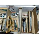 """LOT - (1) SPI 1""""-1/2"""" BORE GAGE, (1) .500 TO .600 BORE GAGE, (1) 1.6-1.8 BORE GAGE, (1) MITUTOYO NO."""