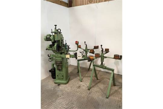 Vollmer CNH bandsaw blade sharpening machine with blade