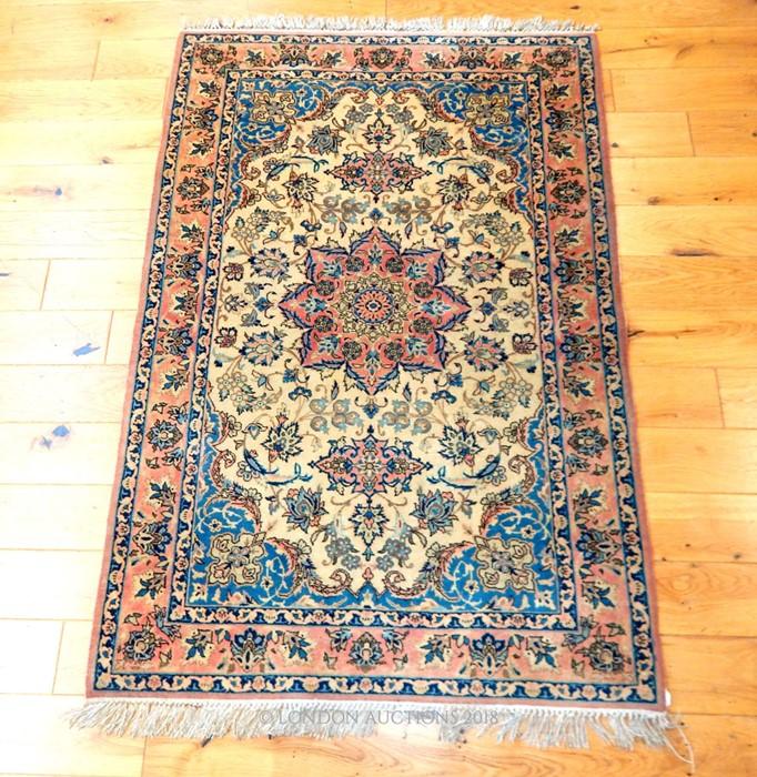 Lot 16 - A Persian Isfahan rug