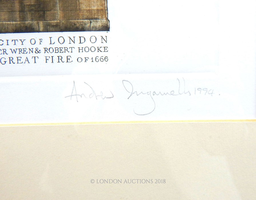 Lot 25 - Andrew Ingamells (b1956), limited edition print