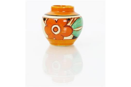 Floreat A Clarice Cliff Fantasque Bizarre Vase Shape No177
