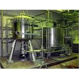 Schenk Kieselguhr Centrifugal Discharge Precoat Filter, Type ZHF-S 30, Stainless Steel.