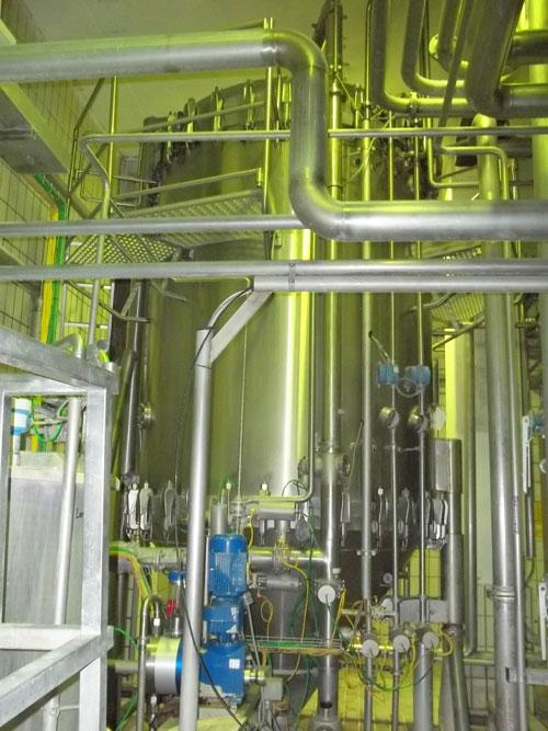 """Lot 15 - Filtrox Werke AG """"Kieselgur"""" type F.Mr. St 2000 stainless steel filtration system. 110 m2 filtration"""