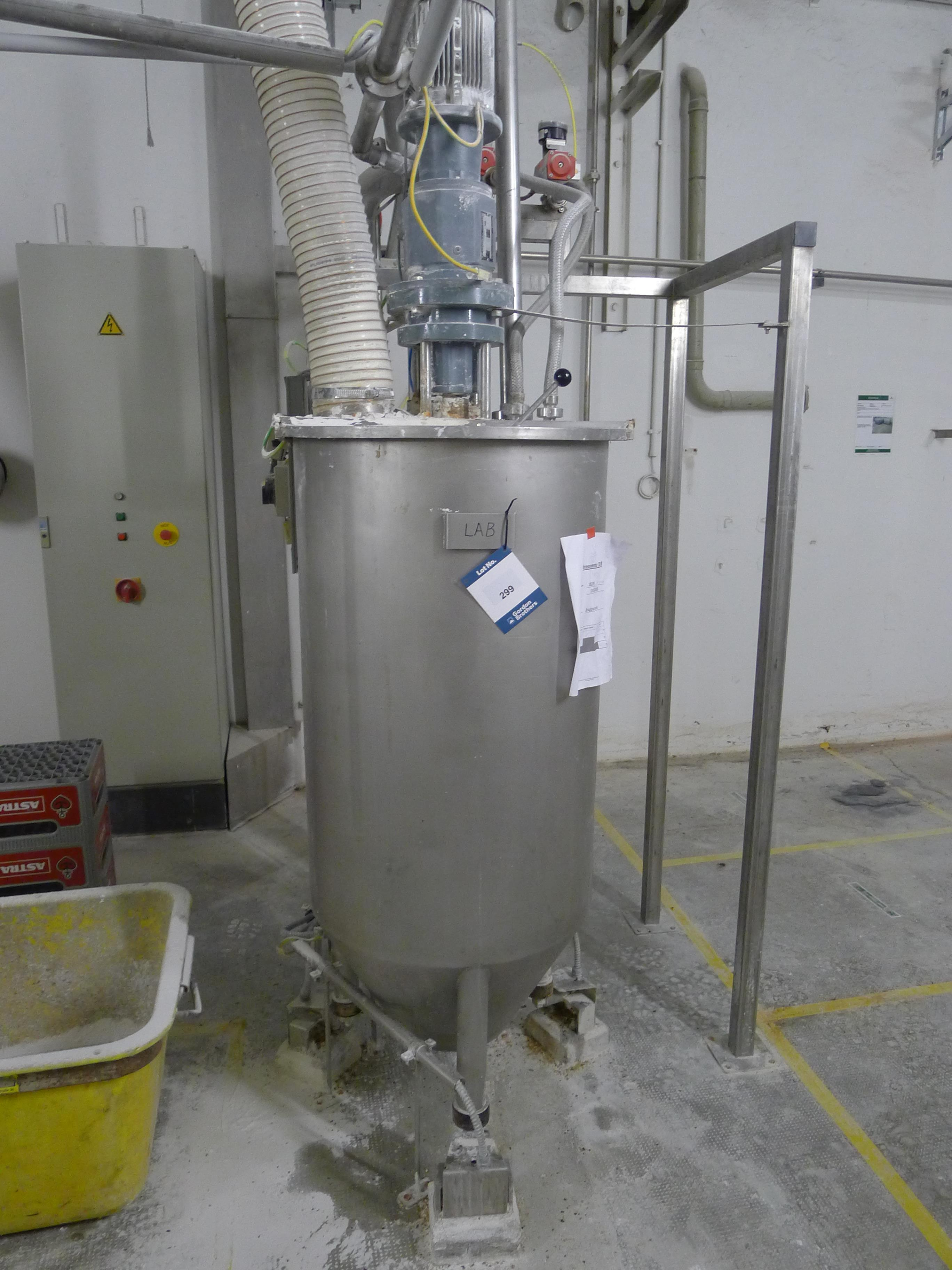 Lot 299 - Gypsum Mixing System (Dismantling and Loading Fee: €450)