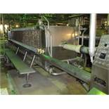 Seitz type OF 100/200 stainless steel filter press 264 m2 filtration area. 350 HL/Hr. 200 pcs of