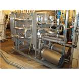 Transfer Station, Stainless Steel. Consisting of: (2) Fristam centrifugal pumps, transfer panel,