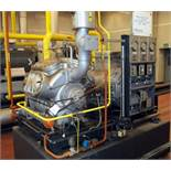 York Refrigeration Cooling Compressor, Type AAD 8170. 400 Kw (-10/+35 degrees C.), 665 m3/h. With