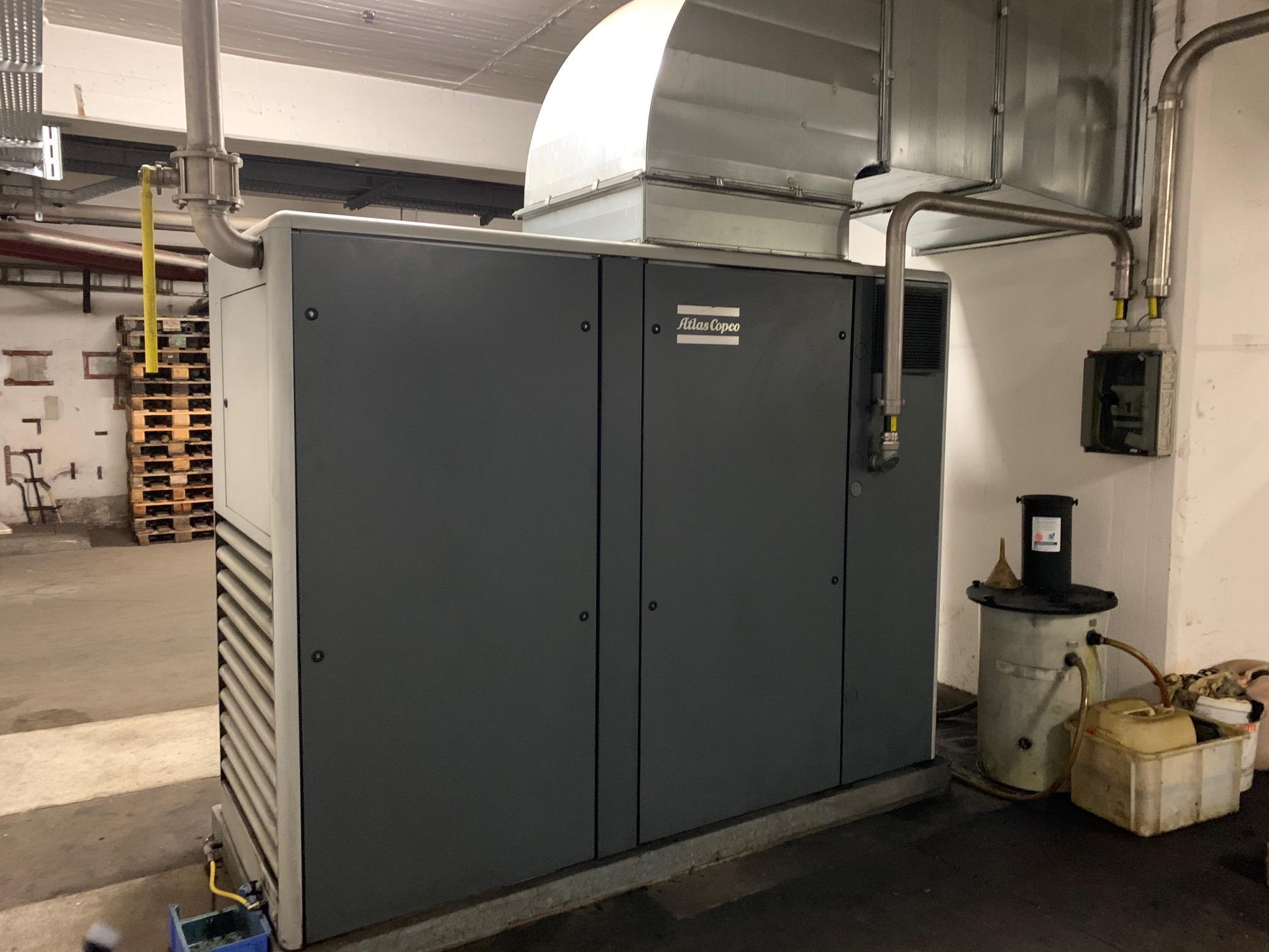 Lot 349 - Atlas Copco GA 90VSD air compressor. Serial number