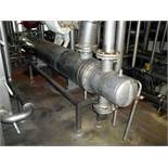 Wilhelm Deller KG stainless steel heat exchanger / cooler, 10m2. Insulated, Rated for 6 bar (90 psi)