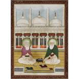 SHAYKH ABD AL-QADIR JILANI AND KHAWAJA MU'IN AL-DIN CHISHTI, 19TH CENTURY