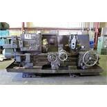 TURRET LATHE, WARNER & SWASEY MDL. 2A, carriage cross fds: 0.0022–0.073 IPR, carriage long. fds: