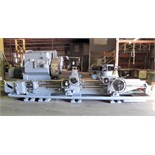 "SADDLE TYPE TURRET LATHE, WARNER & SWASEY MDL. 5A, 36""sw. over bed, 32.75""sw. over carriage horn,"