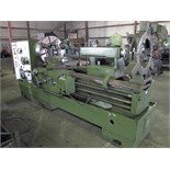 "HOLLOW SPINDLE LATHE, LANSING 28"" X 60"", 28"" sw. over bed, 18.875"" sw. over crosslide, 37.75""sw."