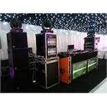 D and B Audiotechnik C7 Series Sound System with D12 Amplifiers, Racks and Cabling