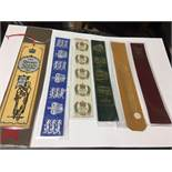 A Collection Of 12 Collectable Vintage Leather Bookmarks.