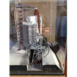 Scale model of the space shuttle