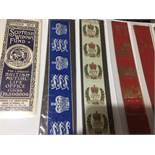 A Collection Of 11 Vintage Leather Bookmarks.