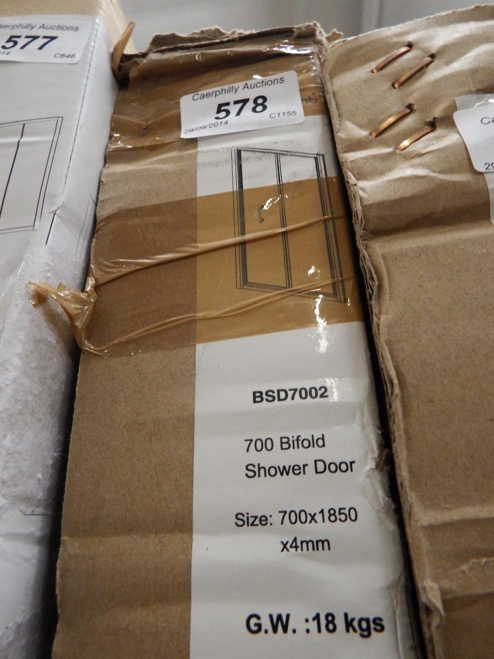 700mm Bi Fold Shower Door