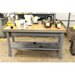 STEEL WORKBENCH (contents not included - delayed removal)