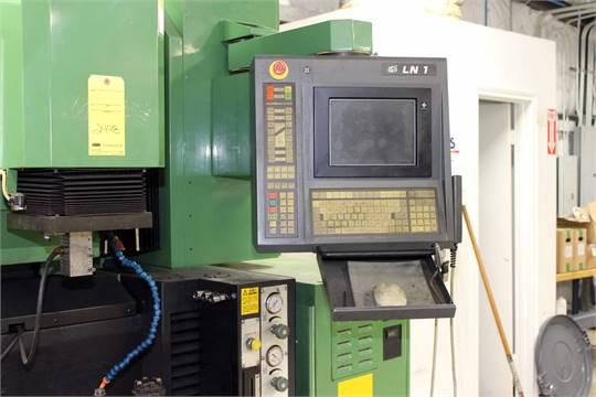 CNC RAM TYPE EDM MACHINE, SODICK MDL  AQ35L, new 9/1999