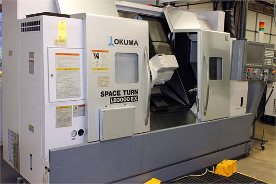 "CNC MILL/TURN MACHINE, OKUMA ""SPACETURN LB3000EX-MY†4"