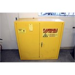 FLAMMABLE LIQUID STORAGE CABINET, EAGLE, 30 gal. cap.