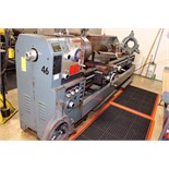 "GAP BED ENGINE LATHE, CHIN HUNG 22"" X 120"", new 1997, 4-1/2"" spdl. hole, spds: 30-1200 RPM, inch/"