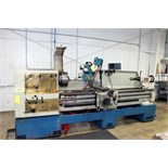 "GAP BED ENGINE LATHE, TARNOW 21"" X 80"" MDL. TUJ560M, spds: 20-1600 RPM, inch/metric thdng., taper"