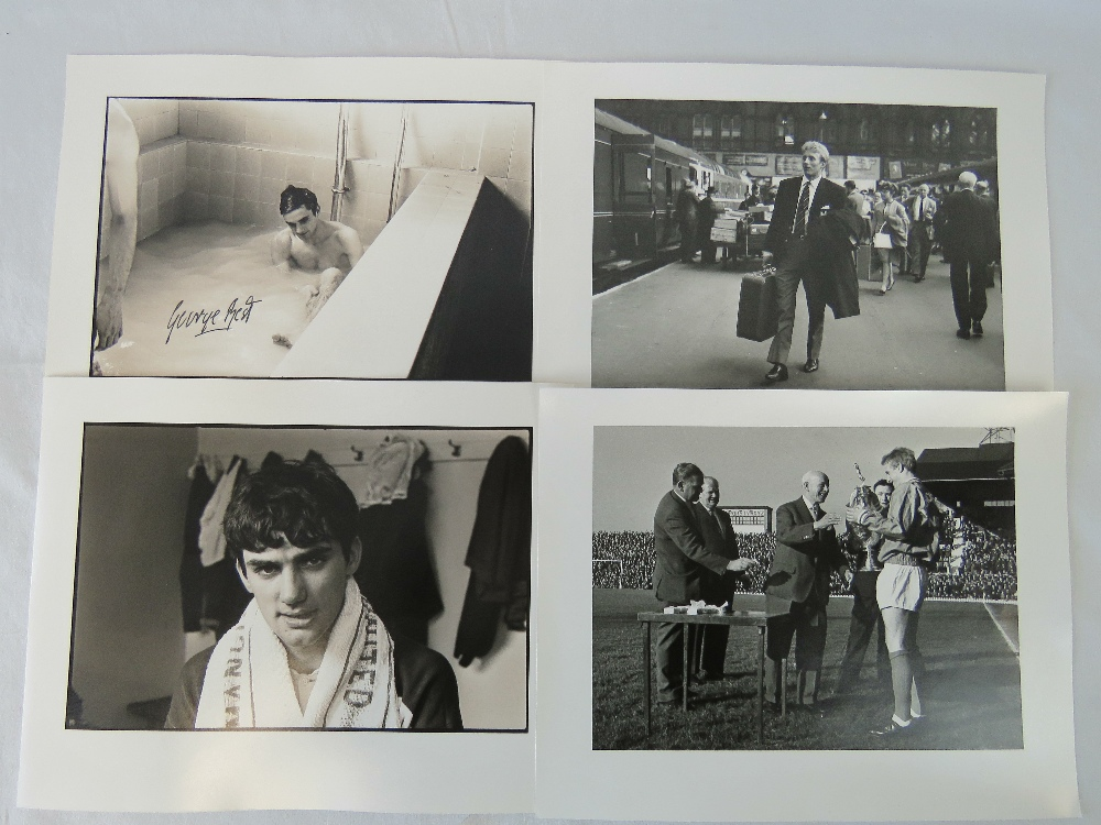 Lot 666 - Four silver gelatin prints from original