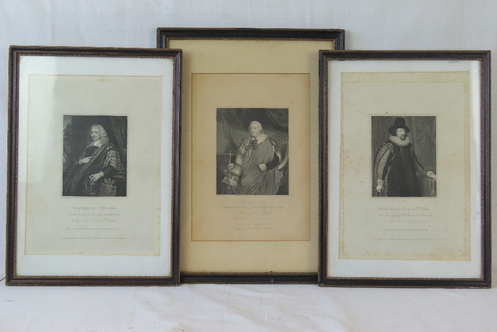 Lot 704 - A pair of early 19thC stipple engravings