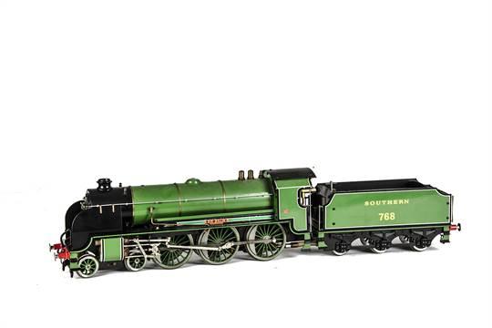 Aster gauge 1 merchant navy locomotive kit