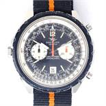 BREITLING - a Vintage stainless steel Navitimer Chrono-Matic automatic chronograph wristwatch,