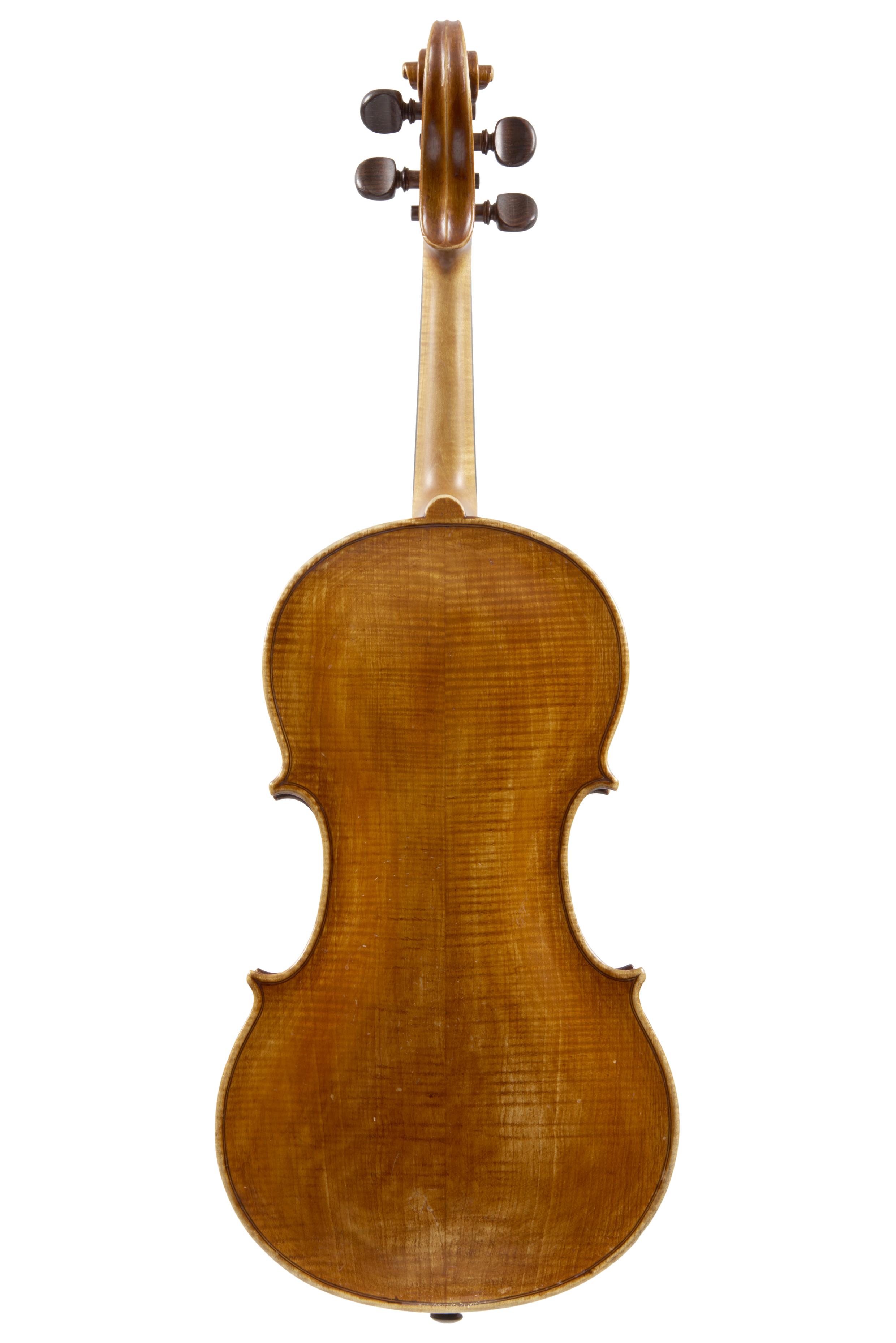PROBABLY BY GIUSEPPE SGARBI (b Finale Emilia, 1818; d Modena, 1905) A VIOLIN MODENA SECOND HALF OF