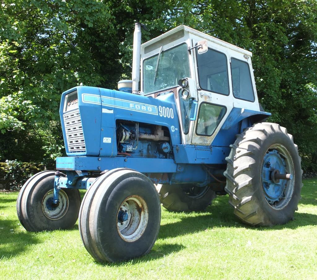 1972 Ford 9000 Tractor : Ford cylinder diesel tractor reg no svn k