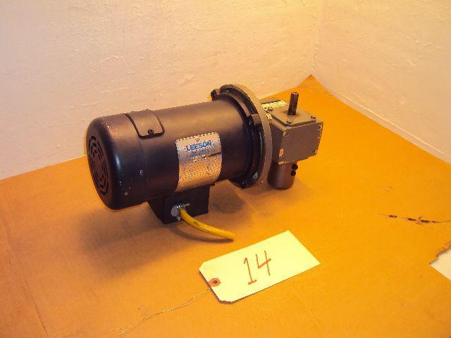 Leeson 1hp 90vdc Permanent Magnet Dc Motor Morse 5 1