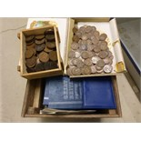 Lot 522 - A large collection of U.K and foreign coins