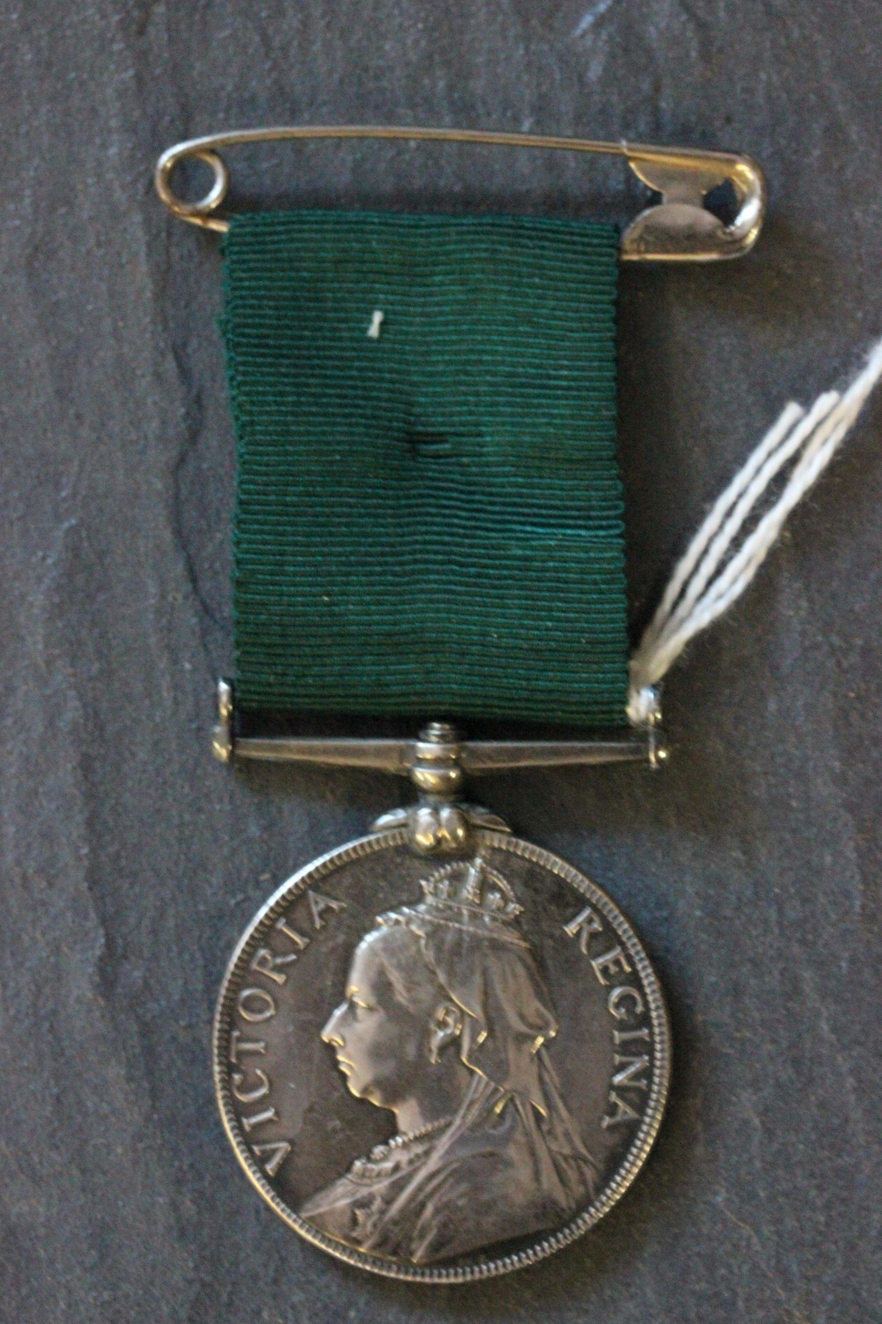 Lot 21 - Interesting Victorian silver Volunteer Force long service medal to 4018 B.S.MAJOR R.J. HABBICK 1ST