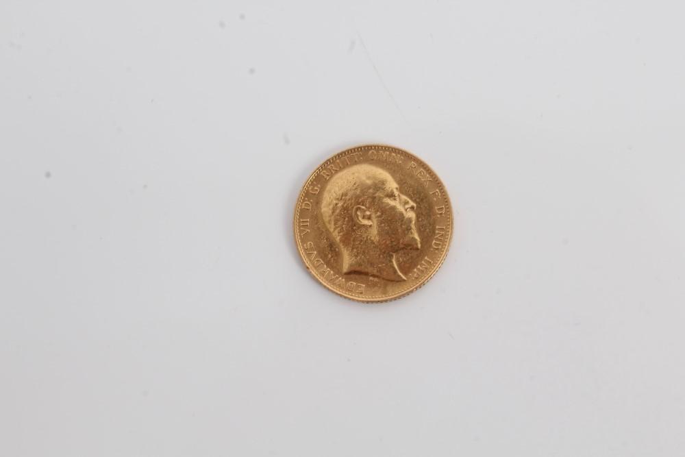 Lot 48 - G.B. gold Sovereign Edward VII 1905.
